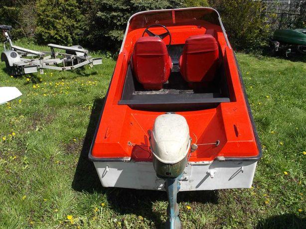 łódź wędkarska motorowa, motorówka