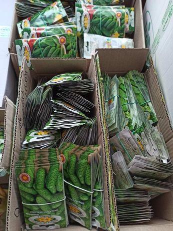 Насіння Огірків, Польша, різні сорти, семена огурцов фасовка 5 грам