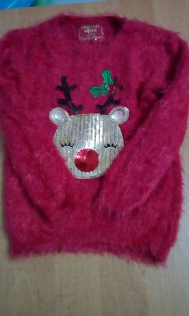 Sweterki zimowe 3 sztuki i kamizelka