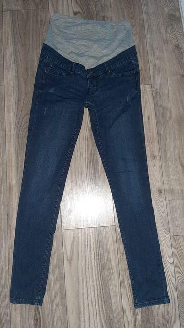 Jeansy ciążowe + 2 pary legginsów ciążowych