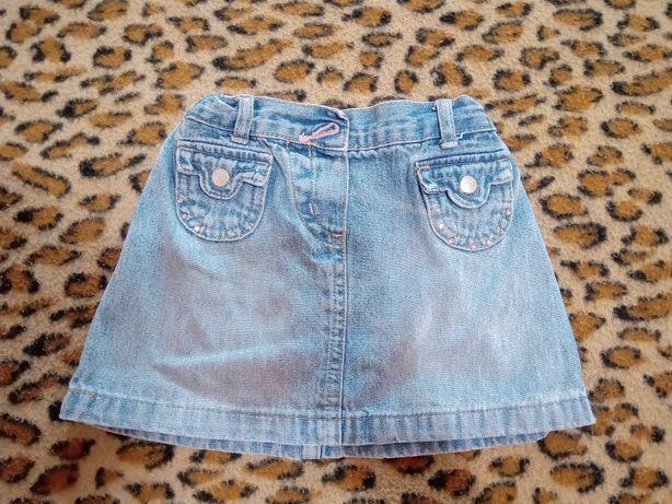 Джинсовая юбка,юбка для девочки