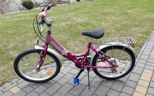 rower DELTA ELF IV 20 cali dla dziewczynki