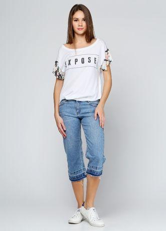 Капри джинсовые pull & bear, s