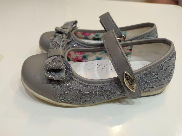 Buciki buty baleriny balerinki dla bliźniaczek rozm. 25 Nelli Blu CCC