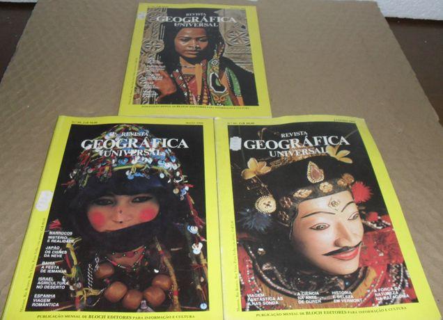 """Revistas Geografica Universal (""""Vintage"""")"""