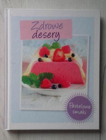 Książka z przepisami na zdrowe desery