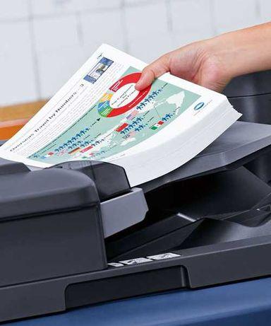 Печать документов, распечатка цветная на струйном принтере 1,00грн