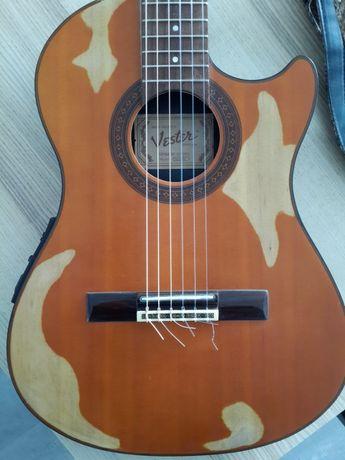 Guitarra Electroacustica Cordas Nylon Vester SAC 20 1992