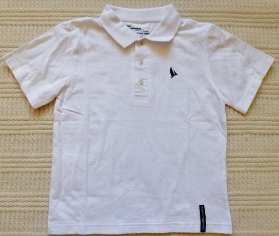T-shirt jak nowy, polo, Max&Maurycy, rozm 128, 8 lat