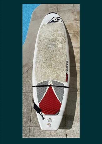 8 Malibu Evolution 7.2Funboard prancha de surf deck fCS nsp Torq