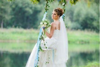 Качеля (для свадебной фотосессии)