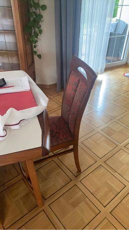 Krzesło do stołu stylowe drewniane