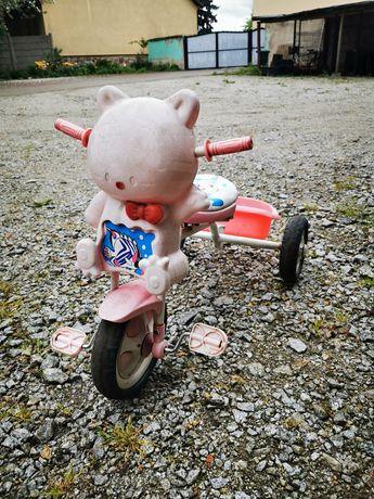 Rowerek dziecięcy trójkowy. Idealny dla dziewczynki. Okazja