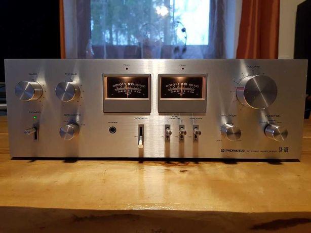 Śliczny Wzmacniacz PIONEER SA-706 - Top Klasyk Ery VINTAGE! Wychyły!