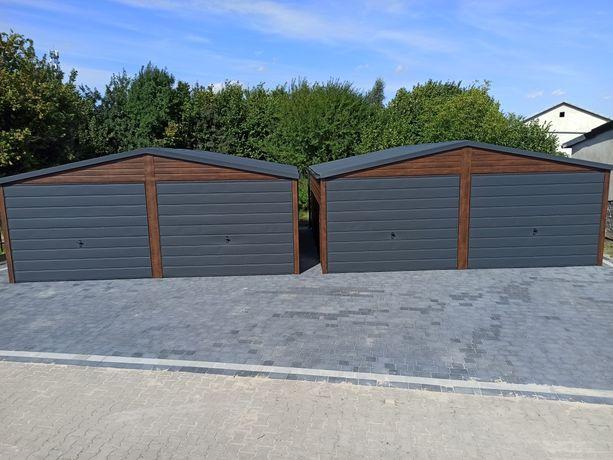 Garaże garaż 6x6 orzech mat