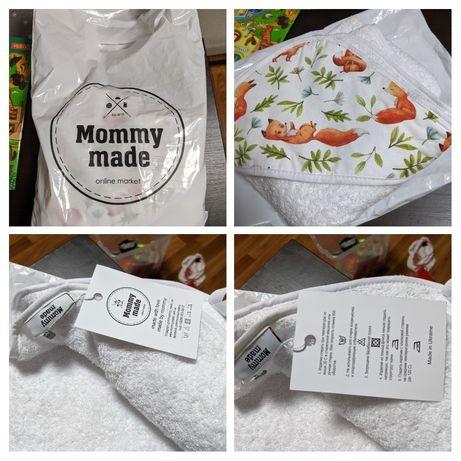 Полотенце уголок детское ручная работа (mommy_made_ua) на подарок