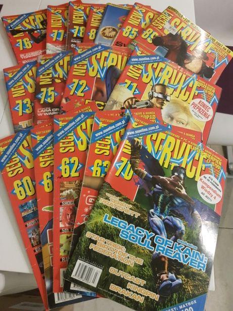 Secret Service/News Service Magazyn o grach komputerowych. 16 sztuk.