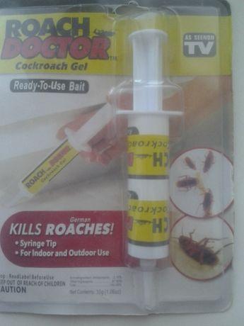 Средство от тараканов и насекомых - гель Roach Doctor Cockroach Gel