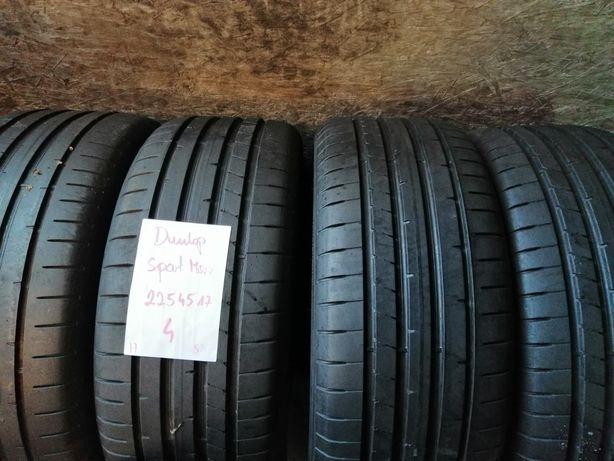 225/45/17 225/45R17 Dunlop 2017 Lato