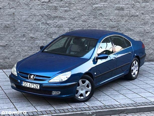 Peugeot 607 3.0 Benzyna+LPG 207Ps_Xenon_Skóra_Navi_Parktronic_Klimatronic_Isofix