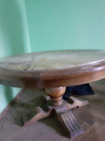 Zabytkowy, antyk, stół dębowy