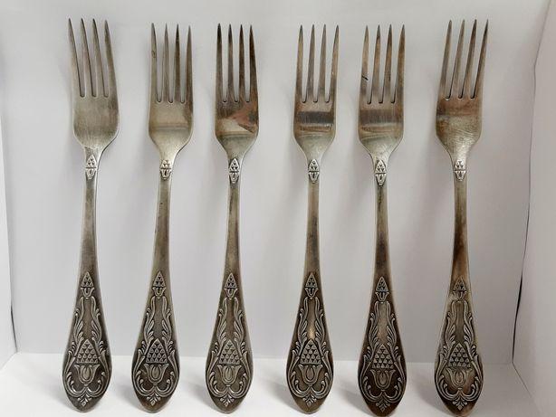 Серебрянные вилки советские
