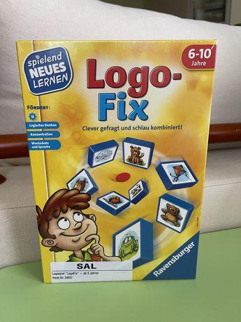 Настольная игра Ravensburger «Logo-fix#Логофикс»