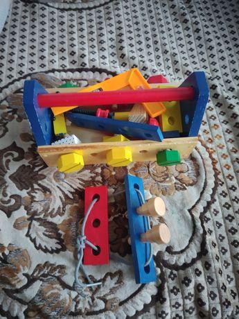 Набор инструментов деревянный
