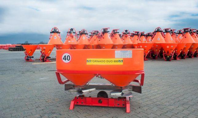 Rozsiewacz nawozów DEXWAL BIS TORNADO DUO LIFT 600 L - 850 L