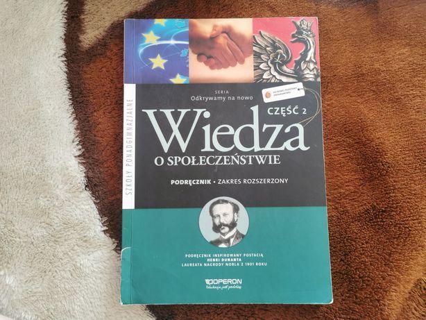 Wiedza o społeczeństwie - podręcznik - zakres rozszerzony, cz.2