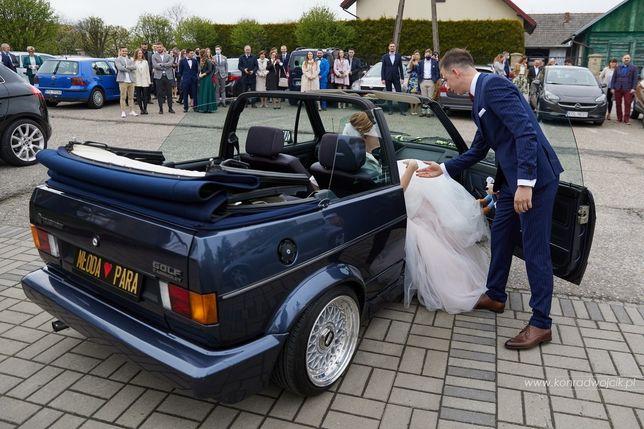 Golf mk1 jako auto do ślubu