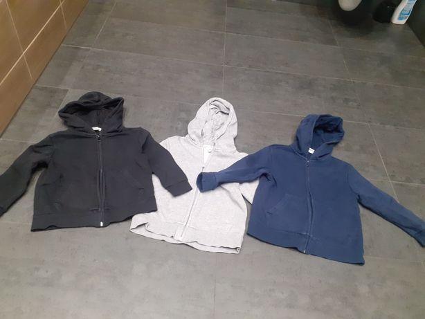 Bluzy h&m 2-4 lata 98-104