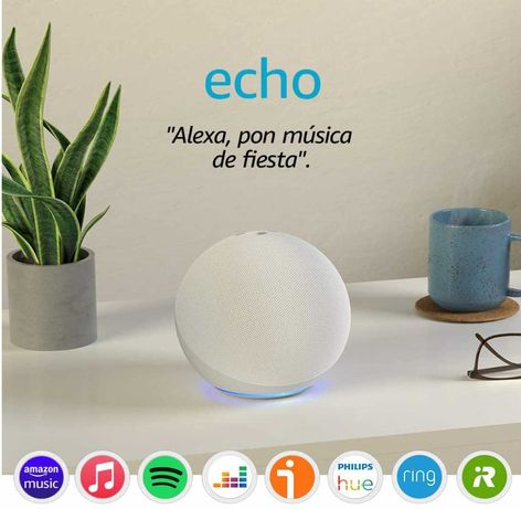 Amazon Alexa Echo (4 Geração) - Branco - Nova