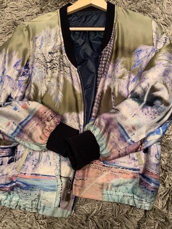 Casaco original Boss em seda (2 lados) - Como Novo