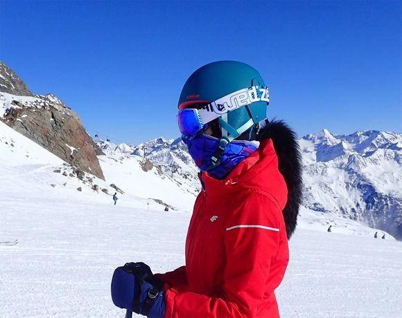 Kask narciarski 53-56cm