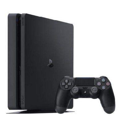 PS4 500GB Slim em muito bom estado