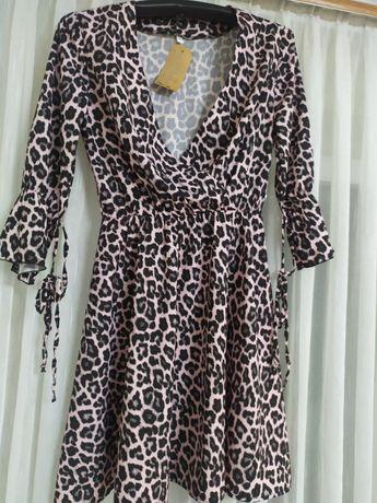 Платье.леопард.Очень красиво смотрится.