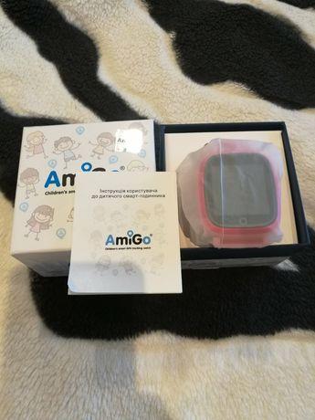 Смарт-годинник AMIGO GO001 iP67 Pink