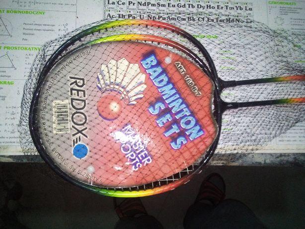 Rakietki do badmintona. Oddam.