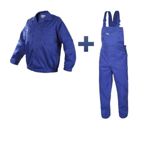 Ubranie robocze(ogrodniczki+swetr)