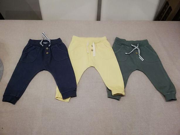 Spodnie newbie dla chłopca rozmiar 74