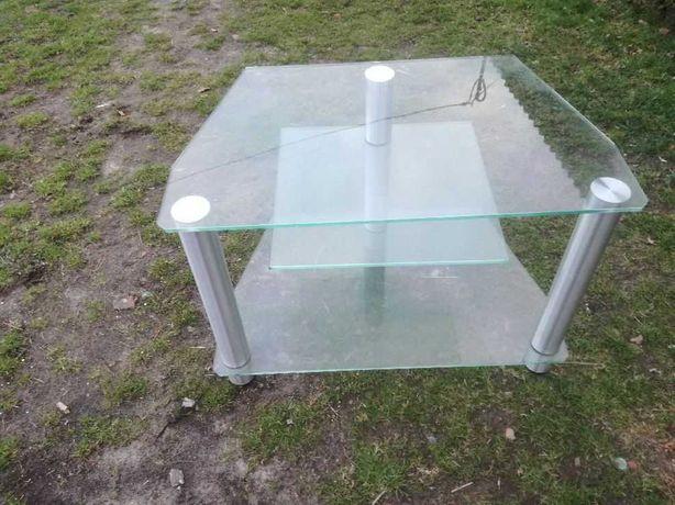 Stolik pod TV / szklany