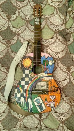 Класическая гитара Yamaha C40 с ремнем + чехол + подставка