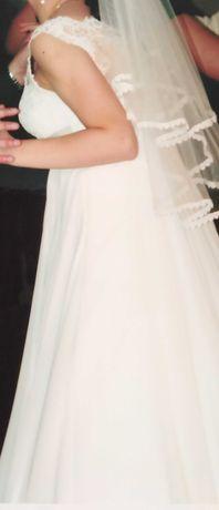 Śliczna koronkowa suknia ślubna 38/40 Florella firmy Nabla.