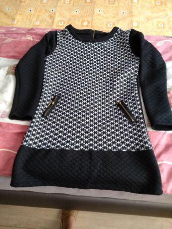 Tunika damska czarna