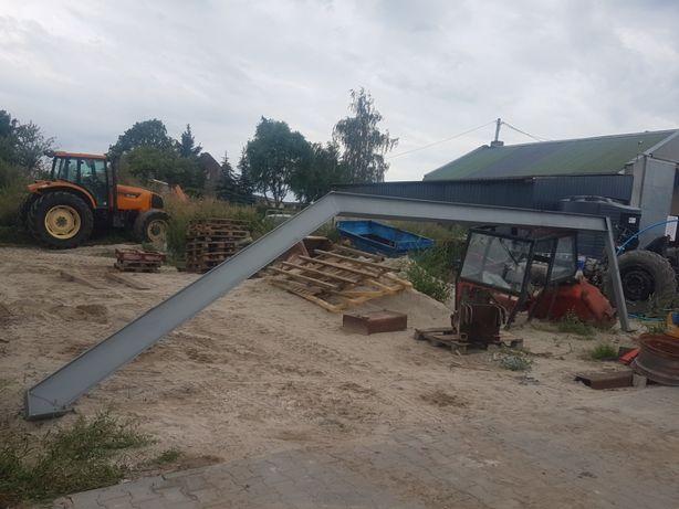 Przesło podporowe dachu konstrukcje stalowe konstrukcja hali