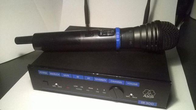 akg sr300 mikrofon bezprzewodowy