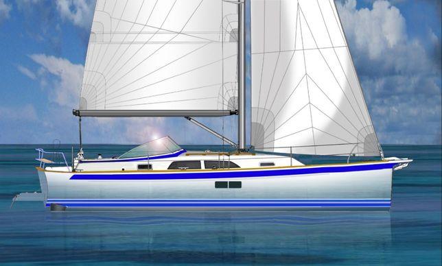 10 метров парусная яхта Реплика т