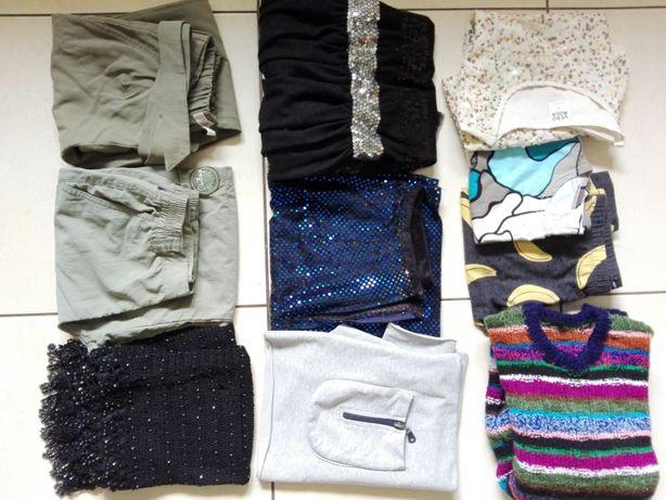 paka zestaw 10 sztuk ubrania dziewczynka r.158