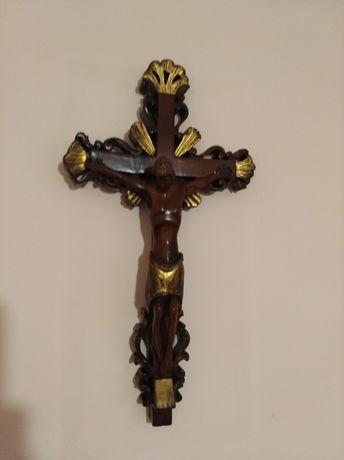 Krzyż z drewna oliwnego